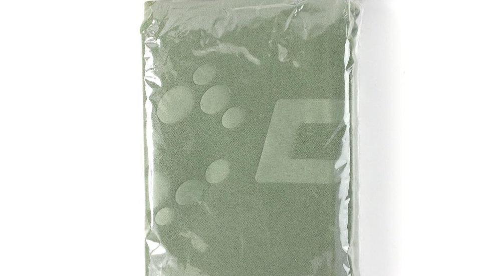 GREEN MICRO FIBRE TOWEL