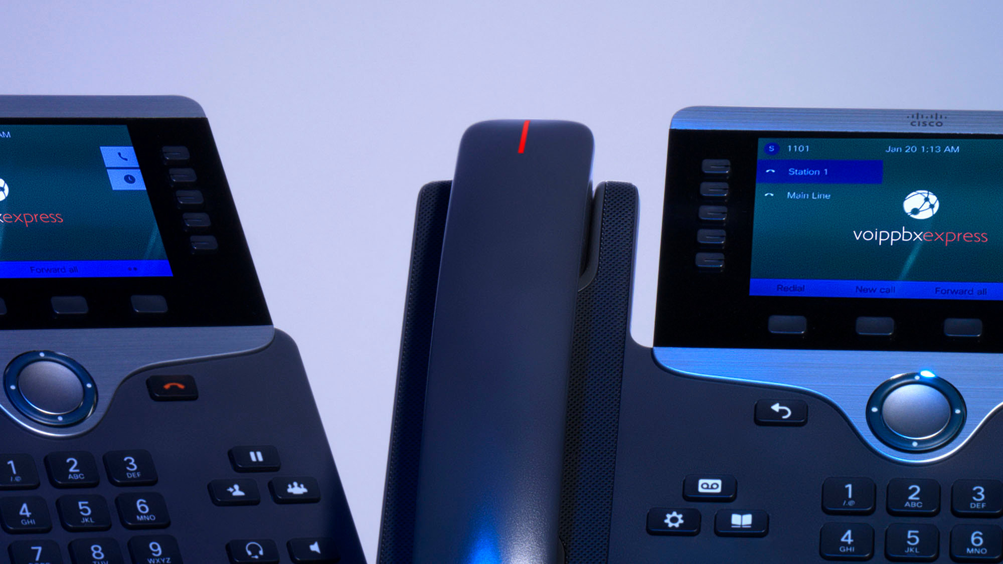 The 20 Executive - Cisco IP PBX Phone System with New Cisco 8800 Color  Phones