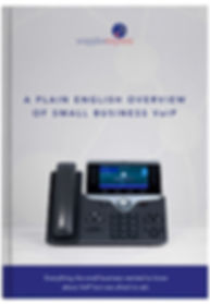 A PLAIN ENGLISH OVERVIEW OF SMALL BUSINESS VOIP