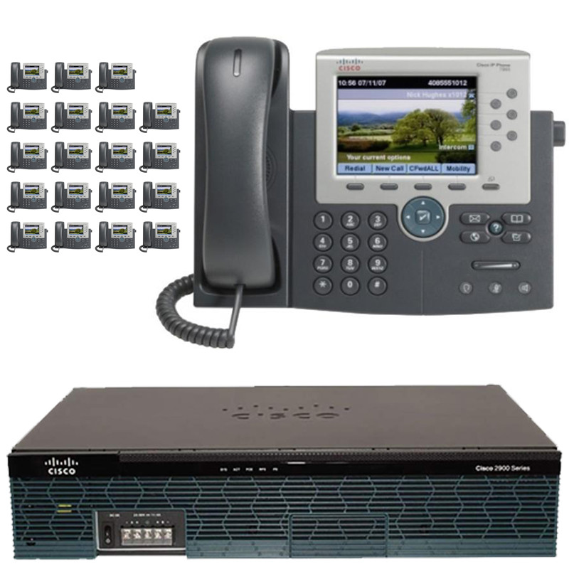 The 20 Enhanced - Cisco VoIP Phone PBX - Small Business IP PBX Phone System