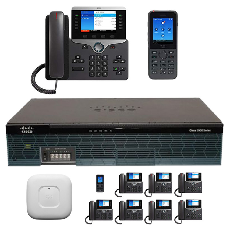 The 10 Wireless - Cisco PBX Phone System - 8821 Wireless & 8841 IP Phones
