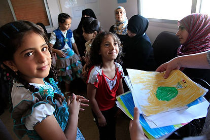 Refugee_children_from_Syria_at_a_clinic_