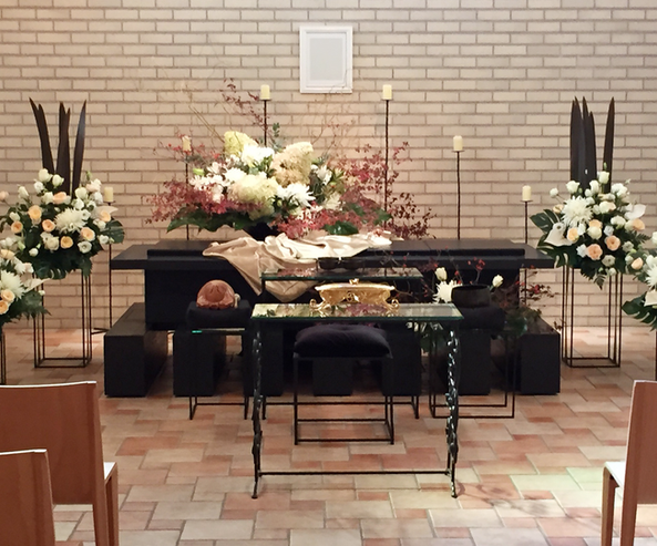 葬儀・祭壇装花