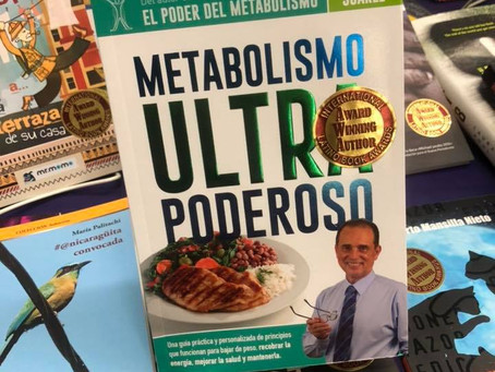 "Libro de Frank Suárez gana el Primer Lugar: ""Metabolismo Ultra Poderoso"""