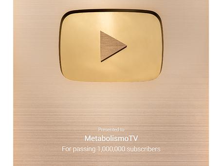 Botón de Oro de MetabolismoTV
