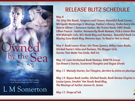 Owned by the Sea - blog tour