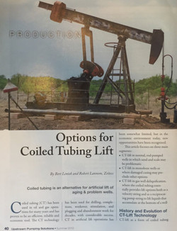 7- Options for Coided Tubing Lift