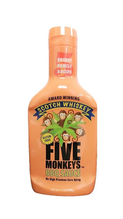 Five Monkeys Scotch Whiskey BBQ Sauce