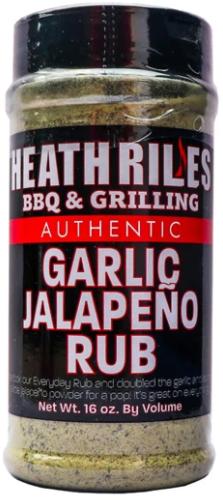Heath Riles BBQ Garlic Jalapeno Rub
