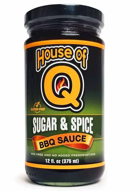 House of Q Sugar and Spice BBQ sauce