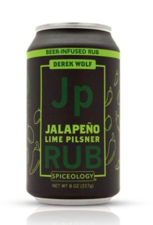 Beer Can Jalapeno Lime Pilsner