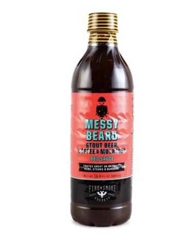 Fire and Smoke Society Messy Beard Coffee and Molasses BBQ Sauce