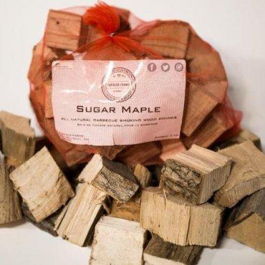 Sugar Maple Cookwood Chunks