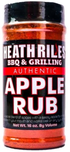 Heath Riles BBQ Apple Rub