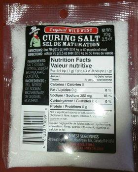 Curing Salt 70g