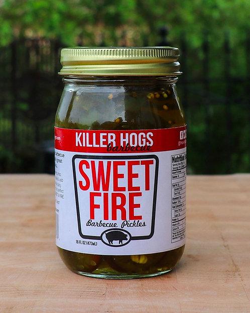 Killer Hogs Sweet Fire Pickles