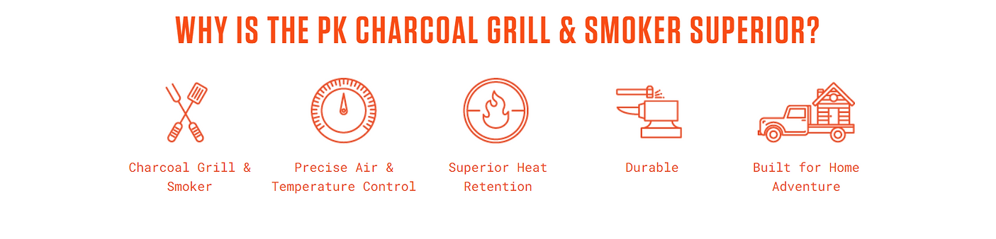 Why PK Charcoal Grill