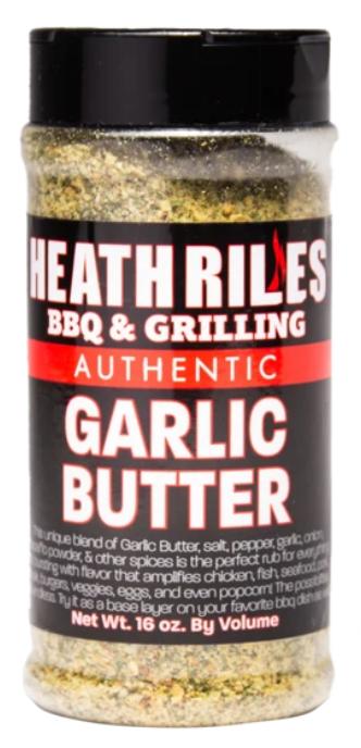 Heath Riles BBQ Garlic Butter Rub
