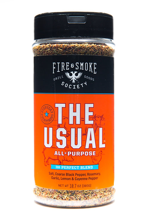 Fire and Smoke Society The Usual All Purpose rub