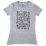 Women's Chef's Table T-shirt -Grey Heather
