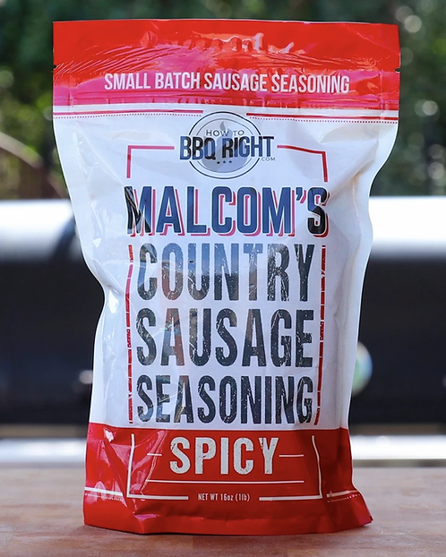 Malcom's Spicy Country Sausage Seasoning