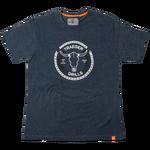 Longhorn T-shirt - Navy Heather