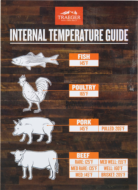Traeger Internal Temperature Guide