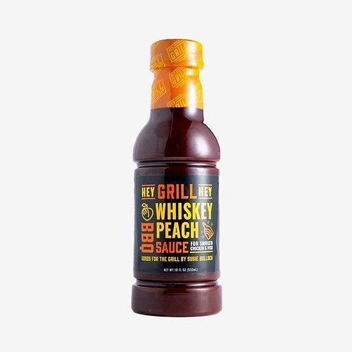 Hey Grill Hey Whiskey Peach BBQ Sauce