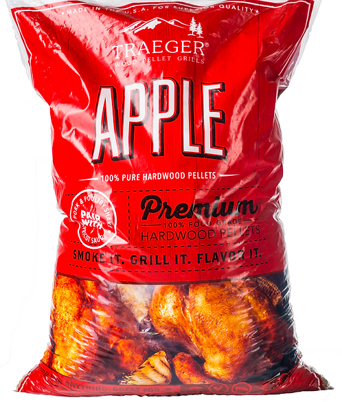 Traeger Apple Pellets (20lb)