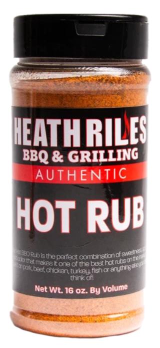 Heath Riles BBQ Hot Rub