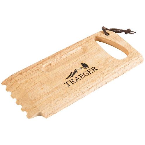 Traeger Wooden Grill Scrape