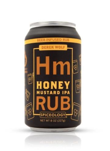 Beer Can Honey Mustard IPA