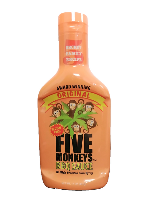 Five Monkeys Original BBQ Sauce