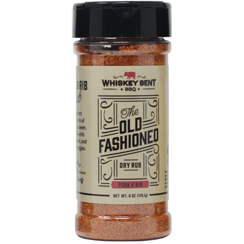 Whiskey Bent BBQ Old Fashioned rub