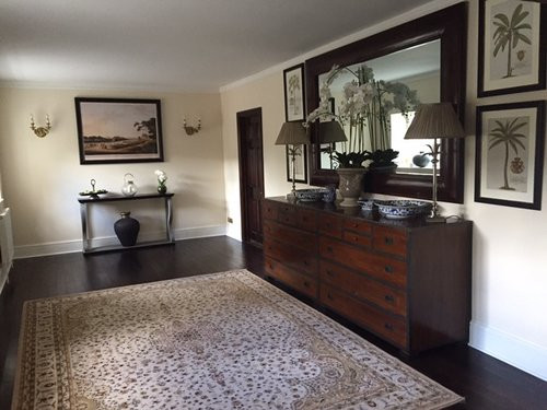 Carpet, picture, interior design, lamp, vase, end table