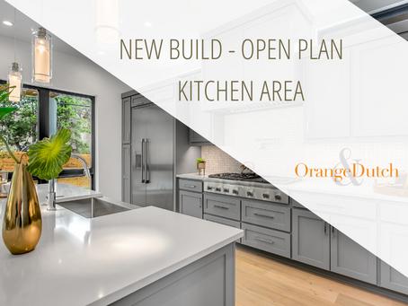 New Build - Open Plan Kitchen Area