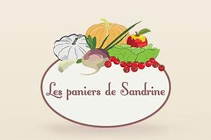 Logo les paniers de Sandrine