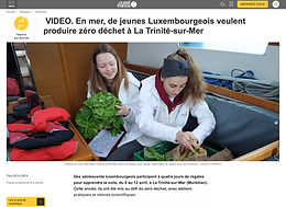 sila.lu & Regatta.lu Zero Waste Challenge - an der franséicher Press