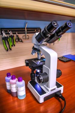 Dermatologia, badania mikroskopowe