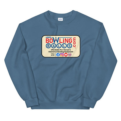 UsedBowlingBalls.com Crew Neck Sweatshirt