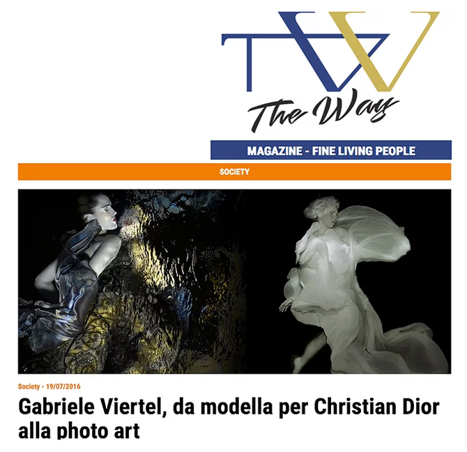Interview by Christian D'Antonio, The Way Magazine, Italia
