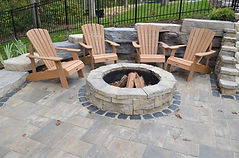 Crown Point, In, Fire-pit, fire pit installation, fire pit installers, belvedere wall, belvedere fire pit, natural stone, natural fire pit, landscape contractor