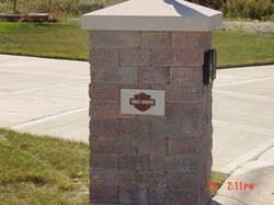 Building Block Mailboxes