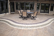 Crown Point, IN, unilock , wall, installation, retaining wall installation, old quarry retaining wall, custom retaining wall