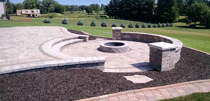 Adam's Landscaping, Crown Point, Indiana, retaining,,, wall, unilock, hardscape construction
