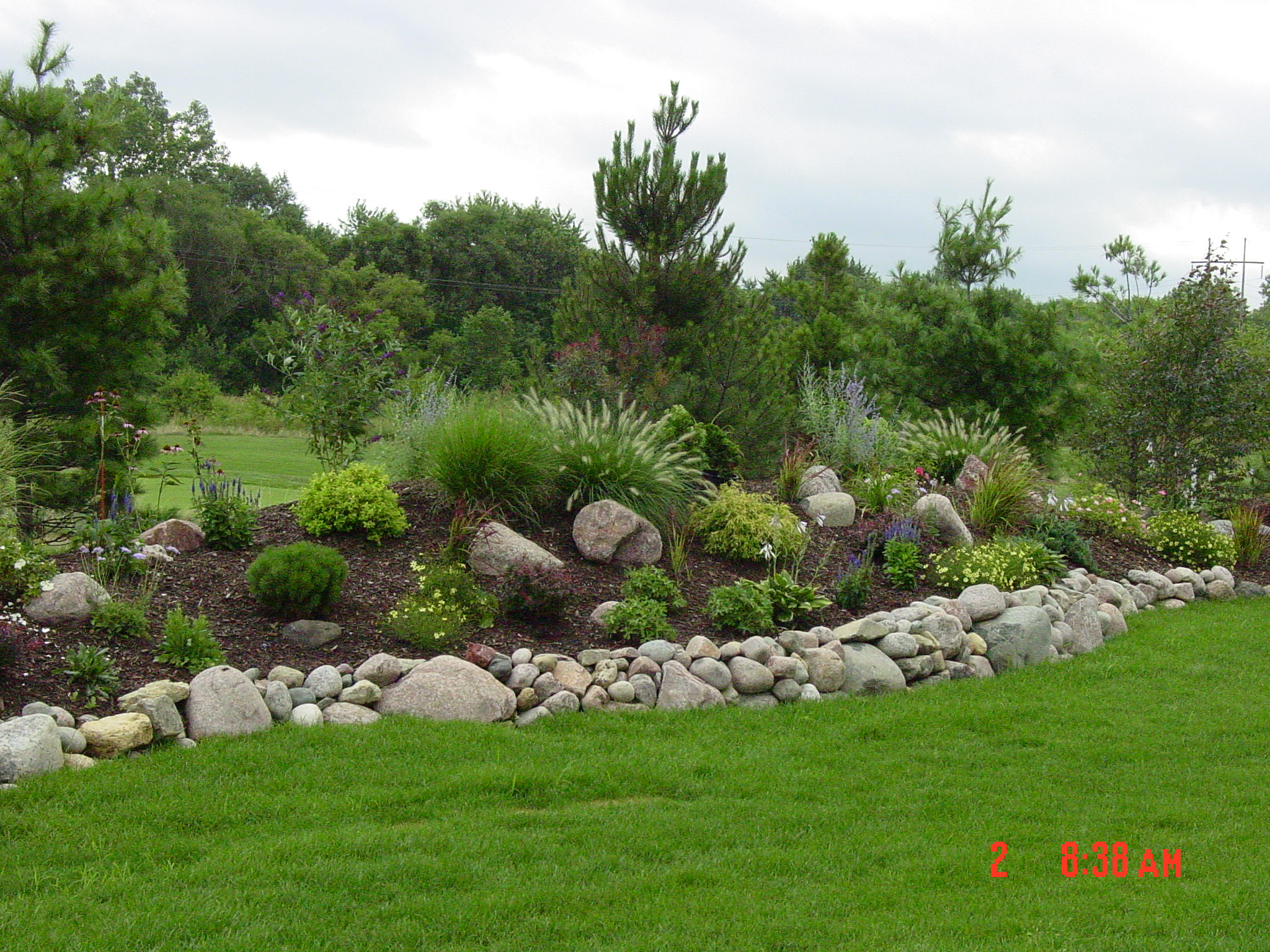 Boulder Retaining Wall Design