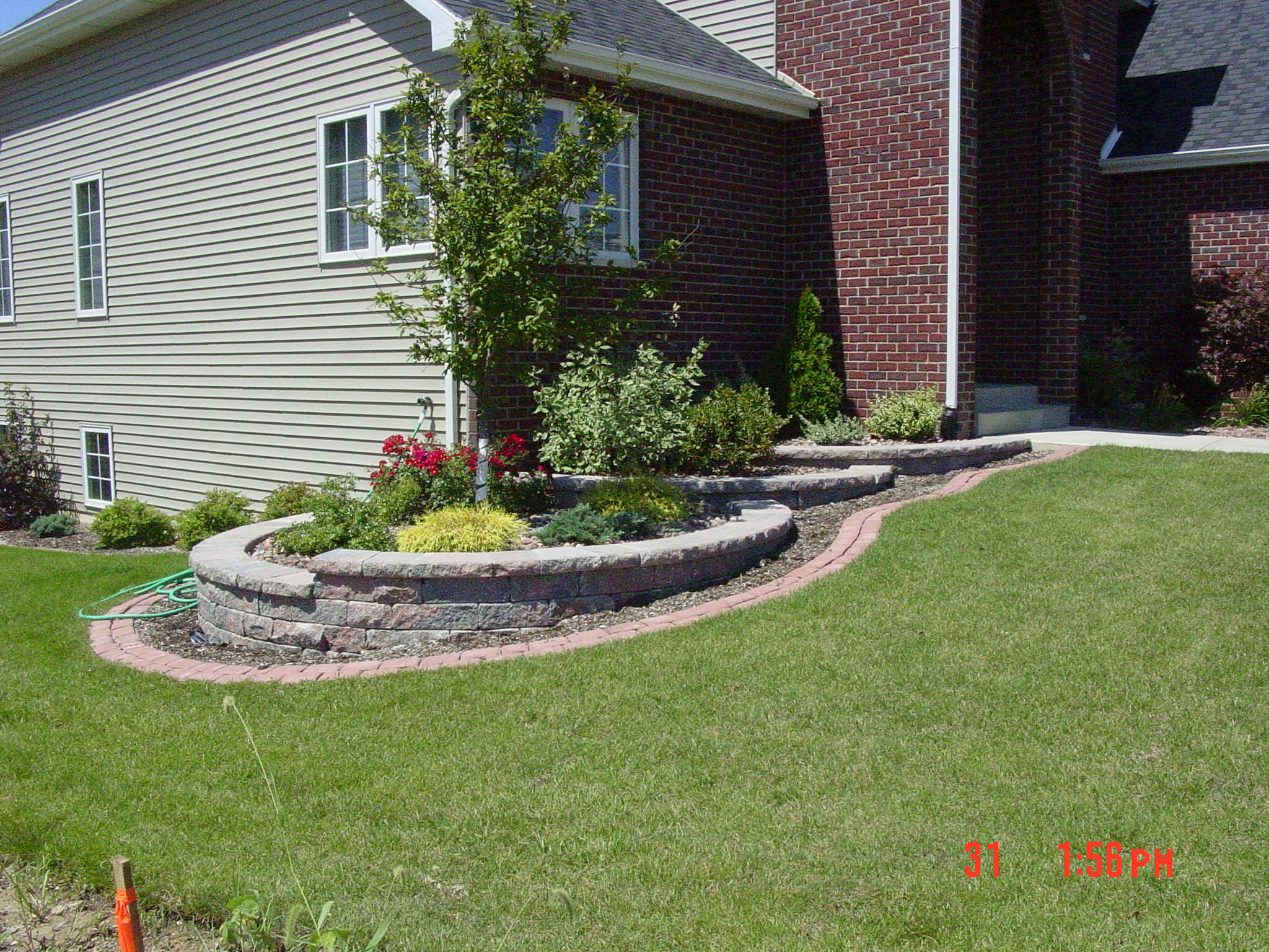 Stepped Retaining Wall Blocks