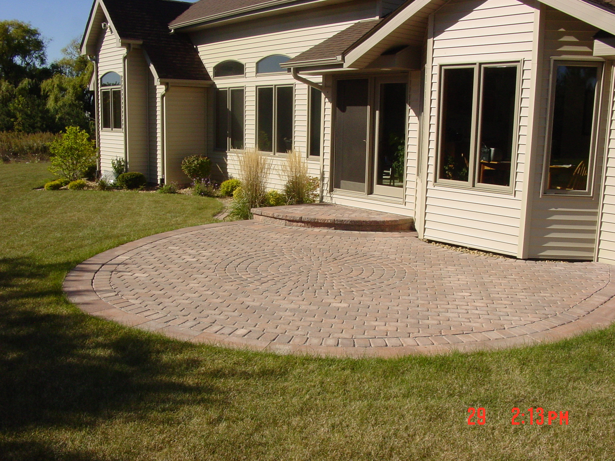 Small Brick Paver Patios