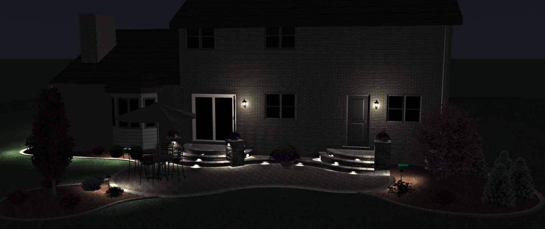 Virtual LED Lighting