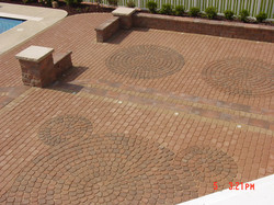 Brick Pavers with Patterns